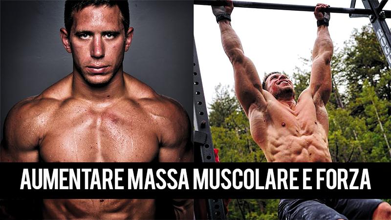 migliori integratori per la costruzione di massa muscolare
